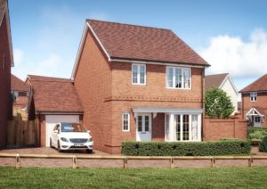 The Balmoral 3 bedroom detached home with side garage
