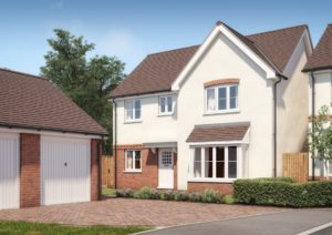The Buckingham 4 bedroom detached home with double garage