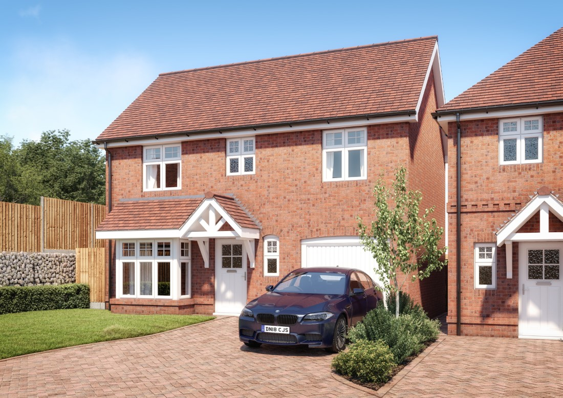 Chatswort 3 bedroom detached home with integral garage