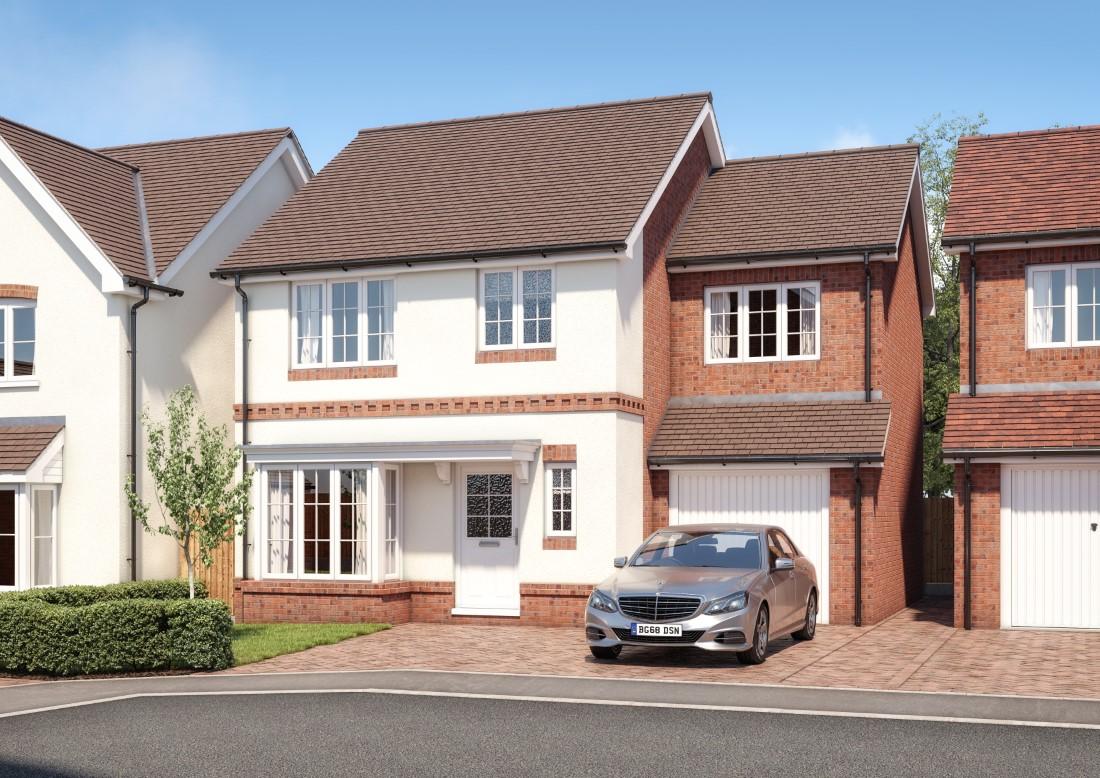 The Sandringham 4 bedroom detached home with integral garage