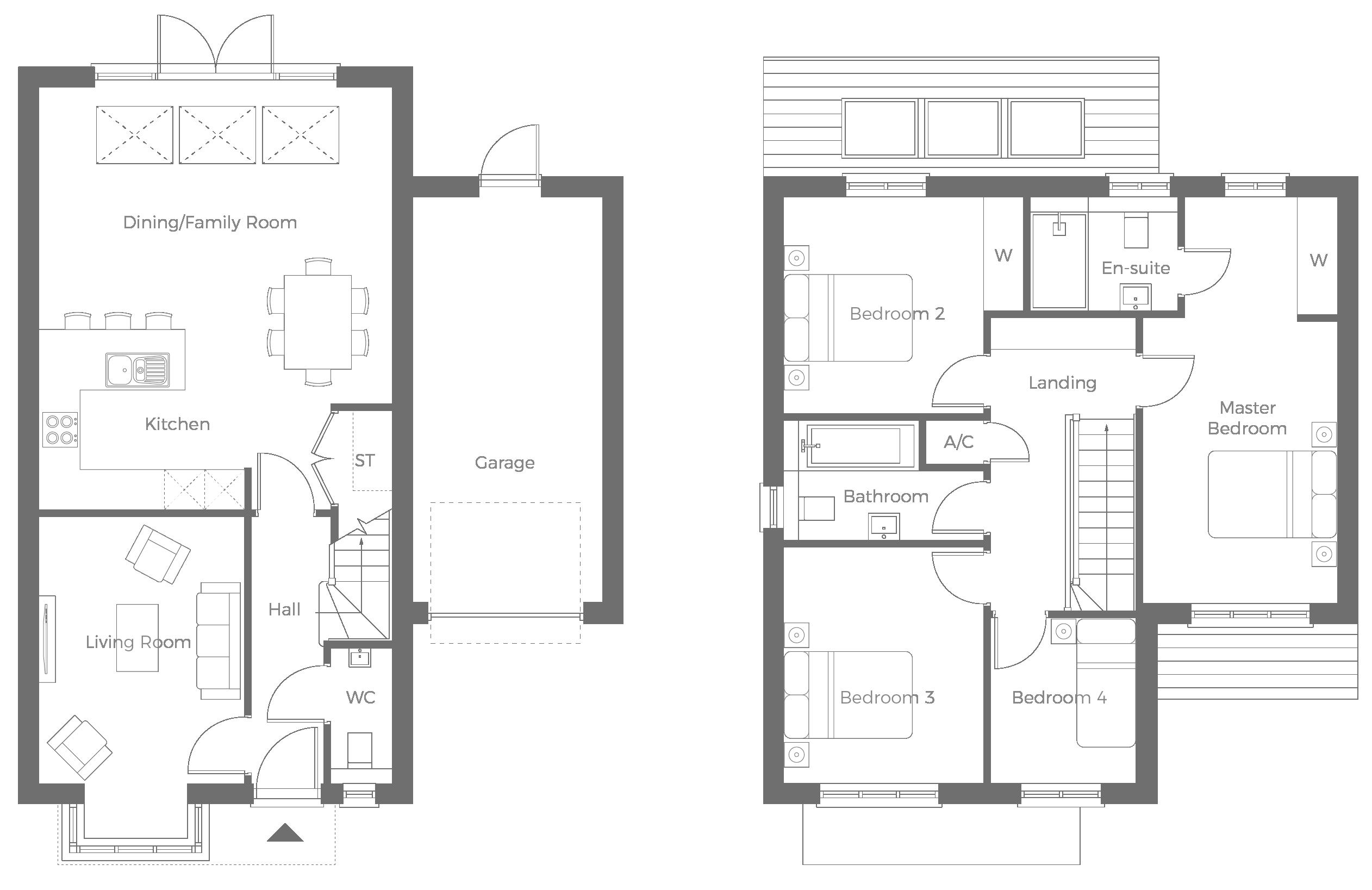 The Windsor 4 bedroom home for sale
