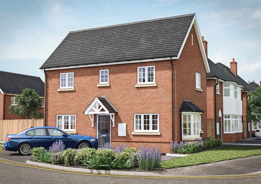 Three bedroom detached family home