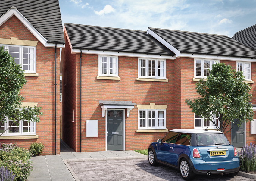 Two bedroom semi-detached family home